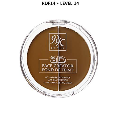 3D FACE CREATOR (RDF14) - Ruby Kisses HD 2 Color Foundation + Concealer