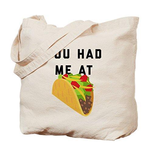 Cafepress Toile Fourre Emoji S Tacos You Had Me tout At Sac Kaki zfArqzw