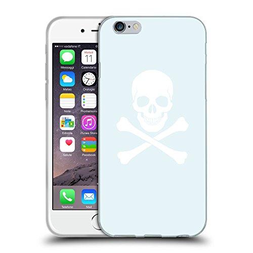GoGoMobile Coque de Protection TPU Silicone Case pour // Q09470619 Os croisés 2 Bulles // Apple iPhone 7