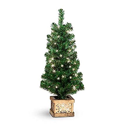 porch trees outdoor entryway holiday home set of pre lit porch trees lighted base outdoor christmas topiaries choose size amazoncom
