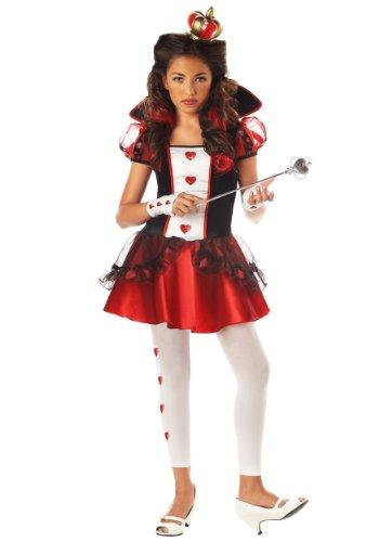 Tween (The Queen Of Hearts Alice In Wonderland Costume)