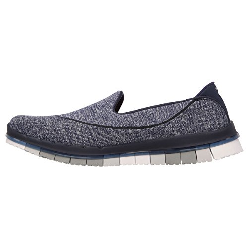 Skechers Go Flex, Women's Sports Shoes Navy / Grey
