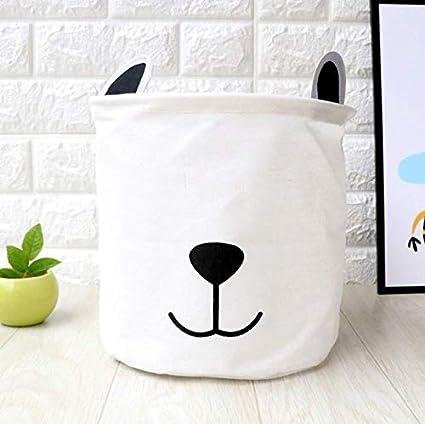 JameStyle26 Panier /à Linge Cartoon Box Pliable Bo/îte de Rangement pour Enfants Salon Seau Seau Jouets Toile