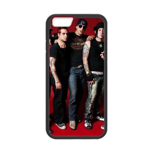 Avenged Sevenfold coque iPhone 6 4.7 Inch Housse téléphone Noir de couverture de cas coque EBDOBCKCO12745