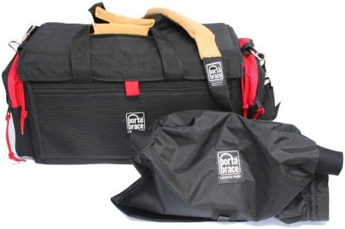 Black//Red Portabrace DVO-1RQS-M3 DV Organizer//Quick Slick