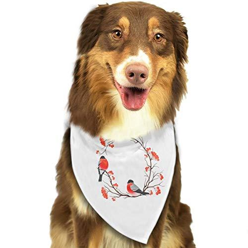 (Pet Scarf Dog Bandana Bibs Triangle Head Scarfs Bird Accessories for Cats Baby Puppy)