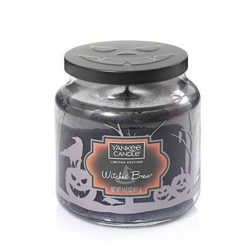 Yankee Candle Witches Brew Medium Jar Candle New for 2017 Halloween Season -