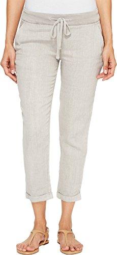 Lucky Brand Women's Linen Pant, Porpoise, Small