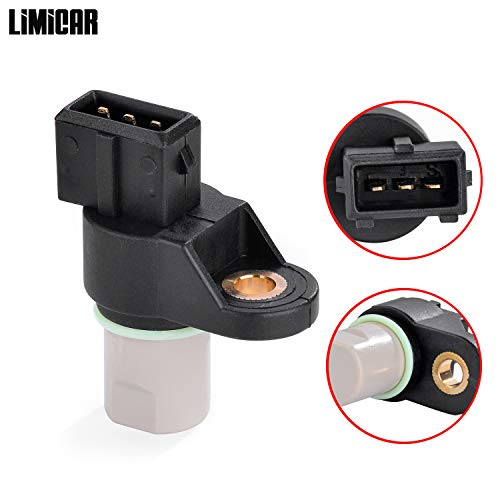LIMICAR 1X Crank Shaft Crankshaft Position Sensor PC528 Compatible w/ 01-06 Hyundai Elantra 03-06 Hyundai Tiburon 05-06 Hyundai Tucson 04-06 Kia Spectra 05-06 Kia Sportage ()