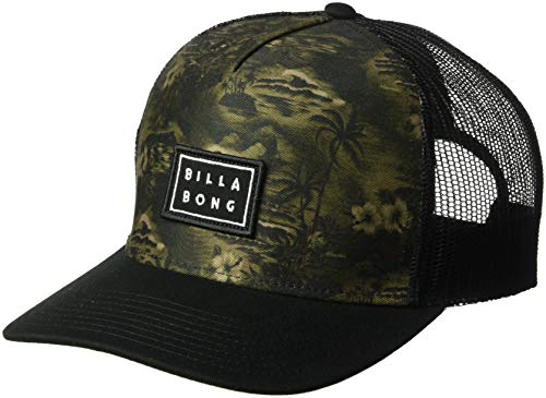 Billabong Men's Beachcomber Trucker Hat Black One Size -