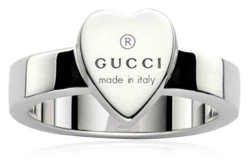 Gucci Anello Trademark cuore misura 14 YBC223867001014  Amazon.it  Gioielli b20987f9ce42