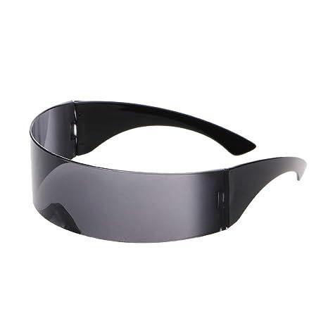 CADANIA Futurista Envoltura Popular Gafas de Sol Máscara ...