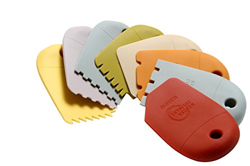 - Mercer Culinary Silicone 8 Piece Plating Wedge Set, Multicolor