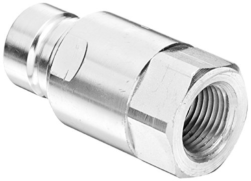 Dixon HT4F4 Steel Hydraulic Quick-Connect Fitting, Plug, 1/2'' Coupling x 1/2'' - 14 NPTF by Dixon Valve & Coupling