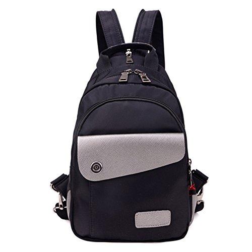 Dual del recorrido del morral/bolsa de tela Oxford señorita Han Ban/mochila de nylon de ocio Mensajero-A C