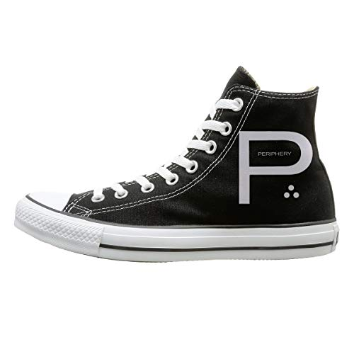 (Shoes PERIPHERY Unisex High-Top Classic Canvas Sneakers Fashion Lace-Up Shoes,Comfortable And Breathable 35)