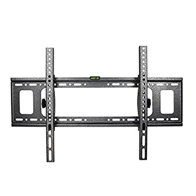 "Tilting TV Wall Mount Bracket- GET Universal Heavy-Duty Tilt Wall Mount Bracket for 32"" - 70"" Samsung, Sony, LG,LCD, LED and Plasma Flat Screen TVs with Bubble Level"