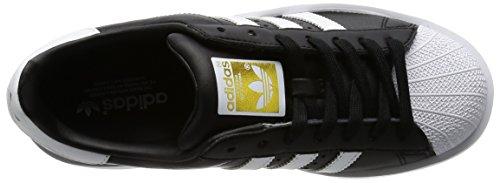 adidas Superstar Bold W, Chaussures de Sport Mixte enfant Noir