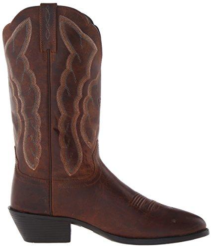 Ariat Frauen Heritage Western R Toe Western Cowboystiefel Sassy Brown