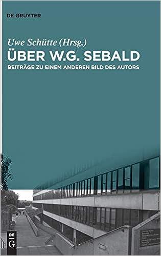 Descargar En Libros Ber W.g. Sebald: Beitr Ge Zu Einem Anderen Bild Des Autors Archivo PDF
