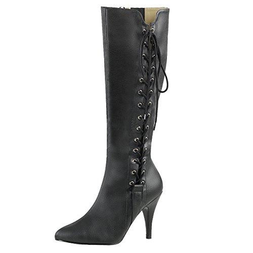 Heels-Perfect - Zapatilla alta Mujer Schwarz (Schwarz)
