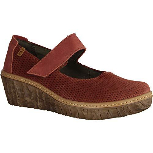 N5135s Mujer Rojo El Caldera Rombos Zapatos Velcro Lux Naturalista Yggdrasil myth 4nSwBqf5F