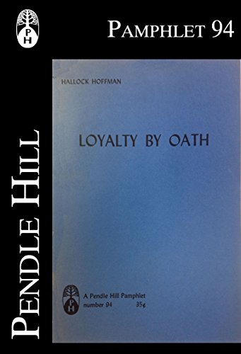 Example Essay English Loyalty By Oath An Essay On The Extortion Of Love Pendle Hill Pamphlets  Book Thesis Essay Topics also Yellow Wallpaper Analysis Essay Loyalty By Oath An Essay On The Extortion Of Love Pendle Hill  Informative Synthesis Essay