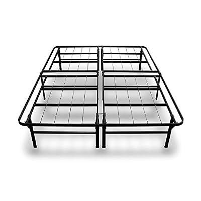 Best Price Mattress 14 Inch Premium Steel Bed Frame/ Platform Bed / Strong / Sturdy / Quiet Noise-Free / Under-bed Storage / 100% Steel Construction