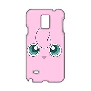 Angl 3D Case Cover Cartoon Anime Pokemon Phone Case for Samsung Galaxy Note4