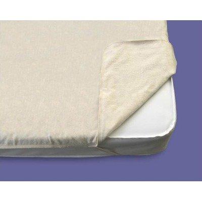 Organic Flannel Mattress Pad Size: Changing Pad (Contoured)