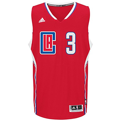 (Los Angeles Clippers Chris Paul Adidas Swingman Jersey Red (3XL))