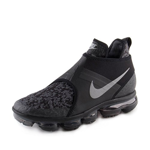 Nike Mens Air Vapormax Chukka Slip Nero / Rifletta Neoprene Argento