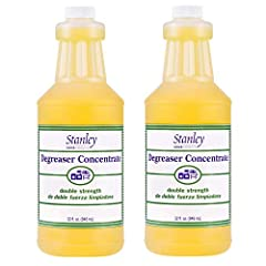 All-Purpose Cleaner Degreaser Concentrate is twice as concentrated as Original Degreaser Concentrated to work hard: Dissolves grease in seconds on cookware, countertops, broilers, dishes, tools, and walls - wherever grease build-up is a probl...