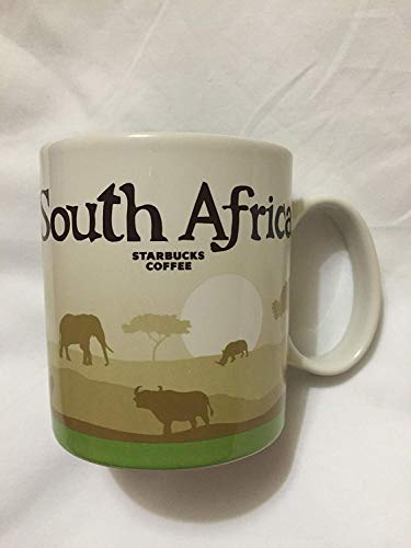 Africa Mug - Starbucks South Africa Icon Coffee Mug Safari Lion Tree of Life Elephant Fauna Rhino Sunset New