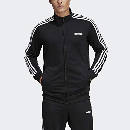 adidas Essentials Men's 3-Stripes Tricot Track Jacket