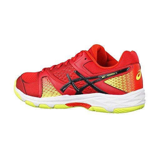 Chaussures Asics Gel-DOMAIN 4 rouge/noir/jaune