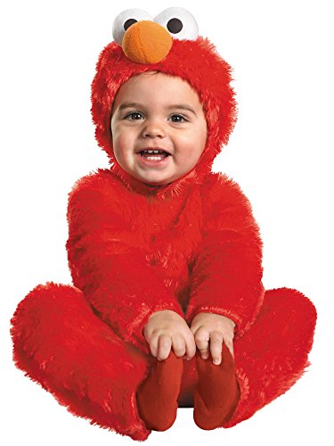 Elmo Comfy Fur Costume - Medium (3T-4T)]()