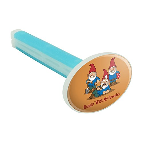 Hanging With My Gnomies Gnomes Car Air Freshener Vent Clip - Fresh Linen Scent