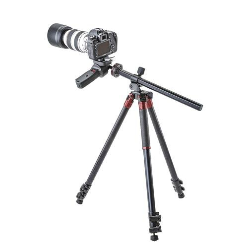 3Pod Orbit Aluminum Tripod for DSLR Photo & Video Cameras, 3 Section Extension Legs, with Pistol Grip Ballhead, Bubble Level, with Bag. 69'' by 3Pod