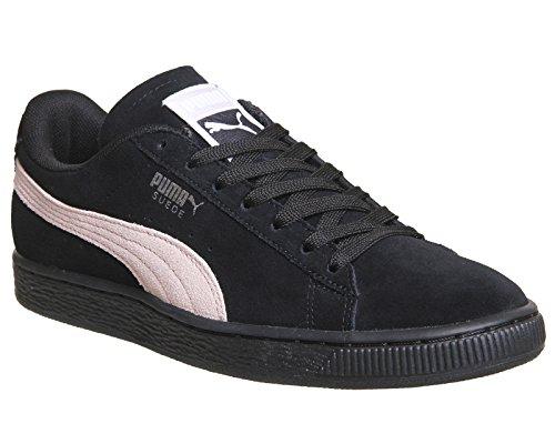 Puma Damen Suede Classic Wns Sneaker Schwarz / Pearl