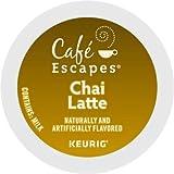 CAFE ESCAPES CHAI LATTE TEA K CUP 72 COUNT