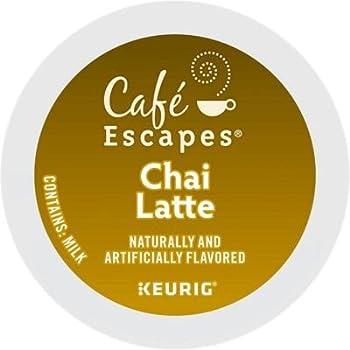 Café Escapes Original Chai Latte K-cups