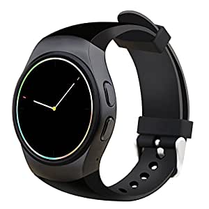 Smart Watch, Otium All-in-1 Bluetooth Wrist Smart Watches with Camera Heart Rate Support SIM TF Card for Android Sony LG Smart Phones IOS iPhone