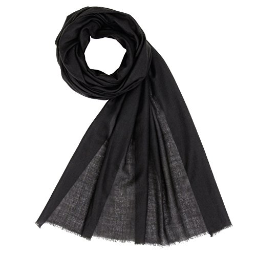 Made in Kashmir: 100% Cashmere Spring/Summer 2018 Collection of Lightweight Cashmere Scarf Unisex Pashmina Men's Women's Shawl by KASHFAB