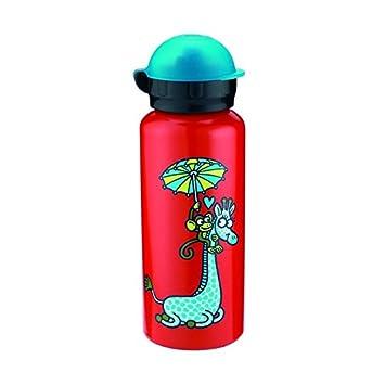 Amazon.com: Laken Kukuxumusu Kids Botella de agua potable ...