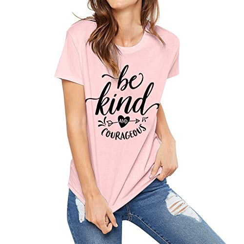 ONLY TOP Women Funny Saying Graphic Tee Vacation Loose Casual Short Sleeve Shirts Tops-4 Kinds of Refined Design ()
