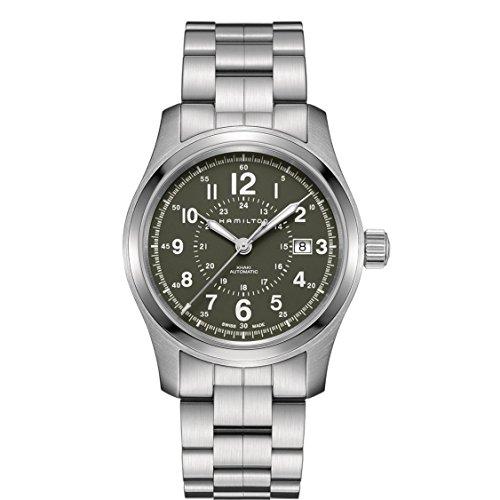 ساعت مچی مردانه همیلتون مدل H70605163 با بدنه استیل