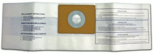 DVC Products Replacement for Fairfax Canister Vacuum Bags 305SW Pack of 3