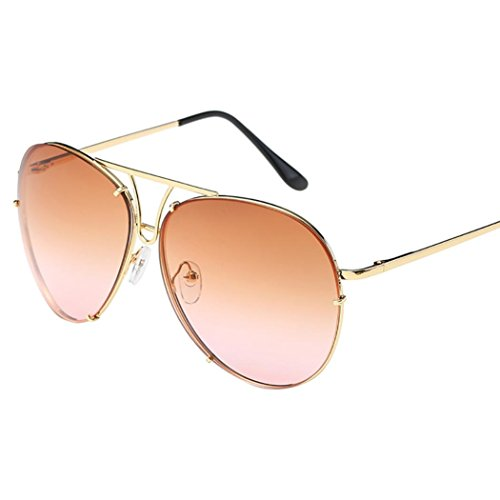 Limsea Hot Sale! Oversized Aviator Sunglasses Flat Top Big Large Luxury Mirrored (Replica Big Pilot)
