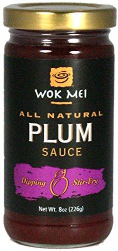 Plum Sweet Sauce - Wok Mei Plum Sauce, 8 oz